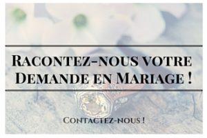 Racontez nous votre Demande en Mariage ! (2)